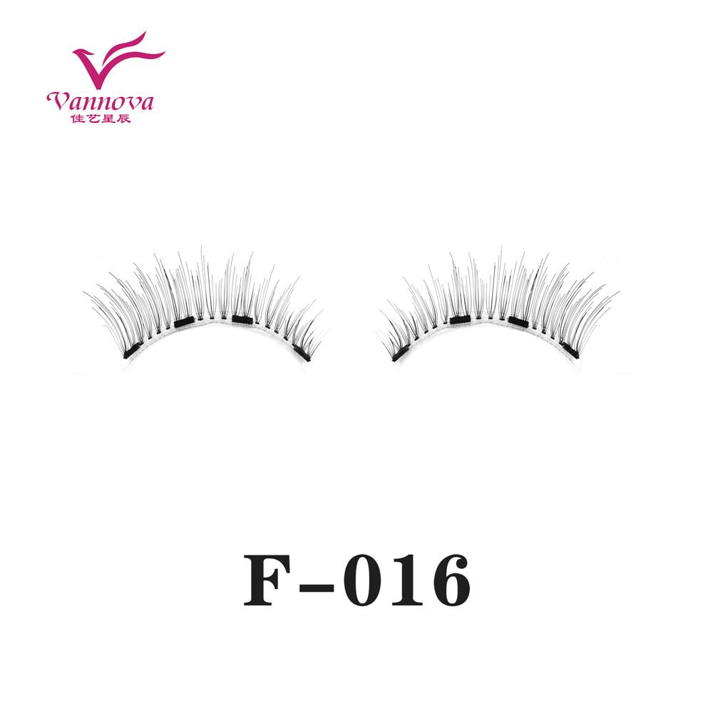 Magnetic synthetic eyelashes F-016
