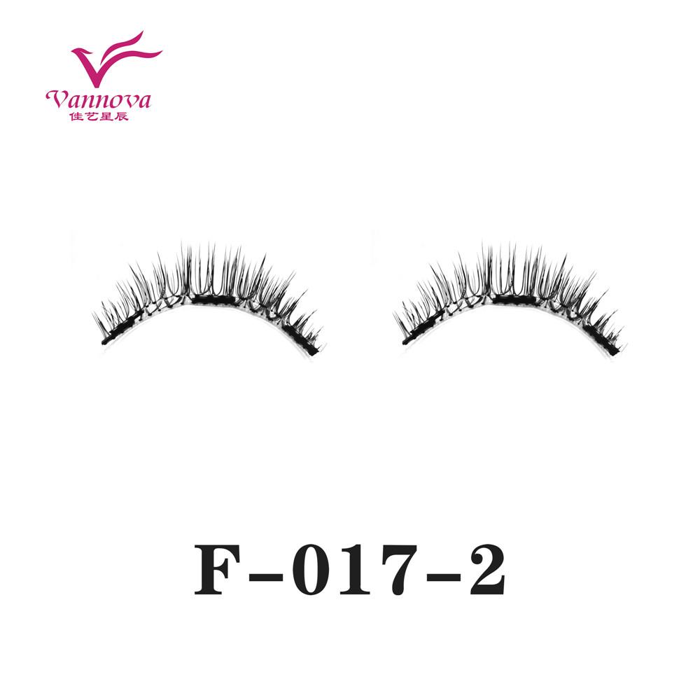 Magnetic synthetic eyelashes F-017-2
