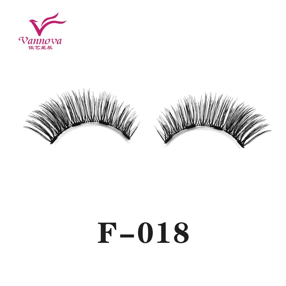 Magnetic synthetic eyelashes F-018