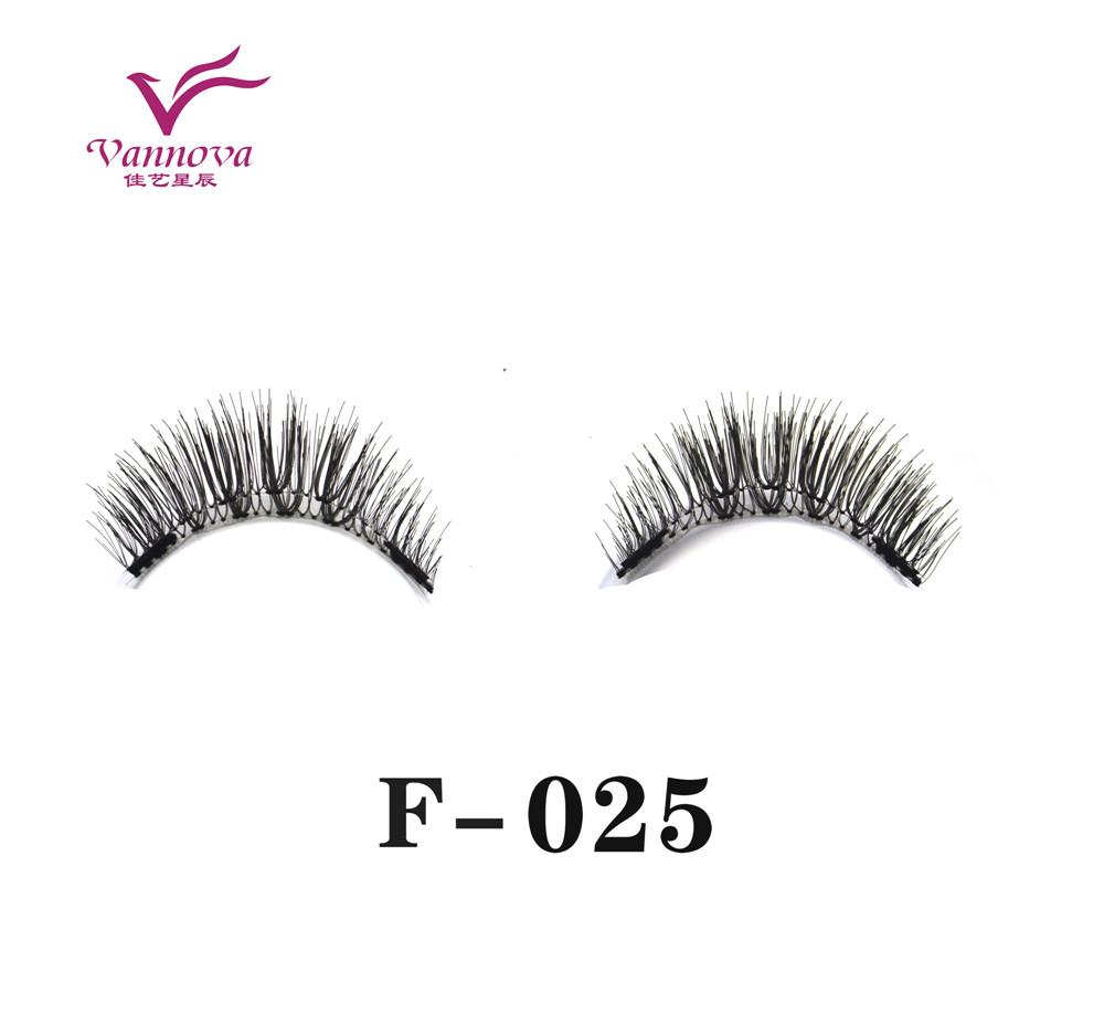 Magnetic synthetic eyelashes F-025