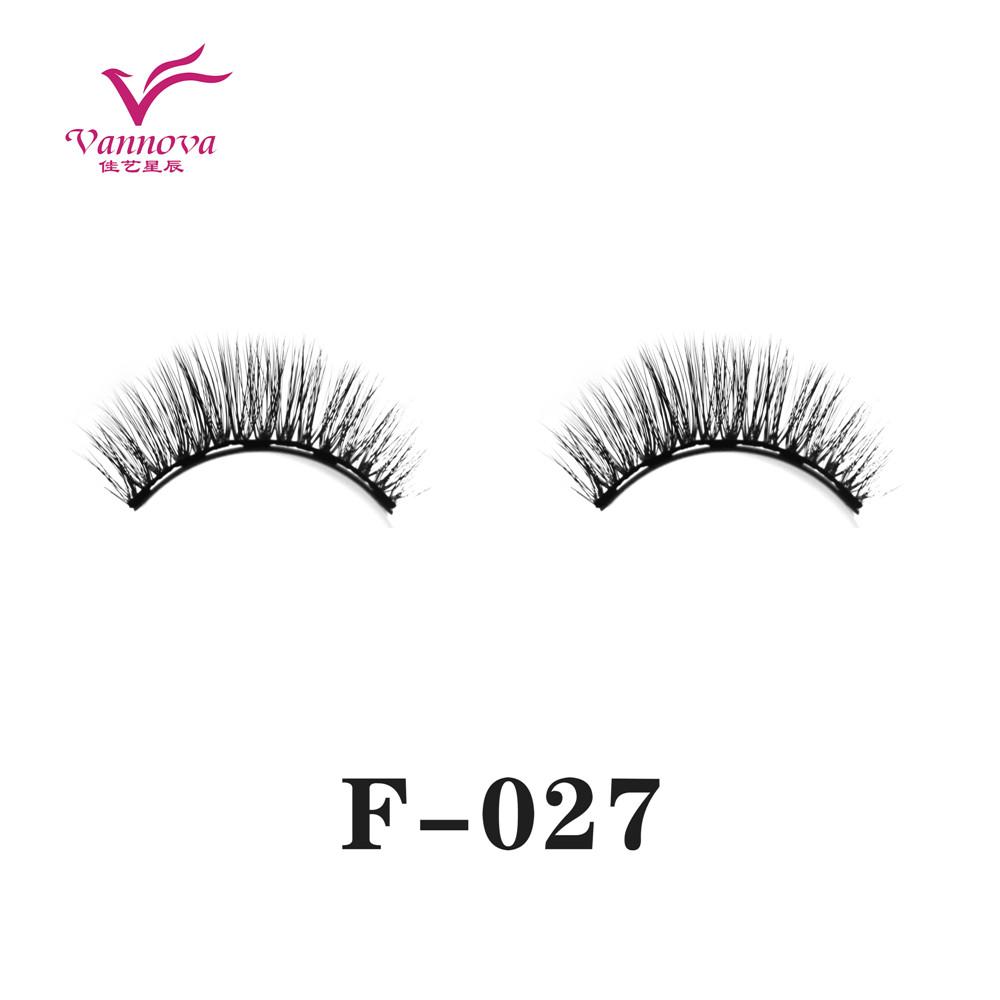 Magnetic synthetic eyelashes F-027