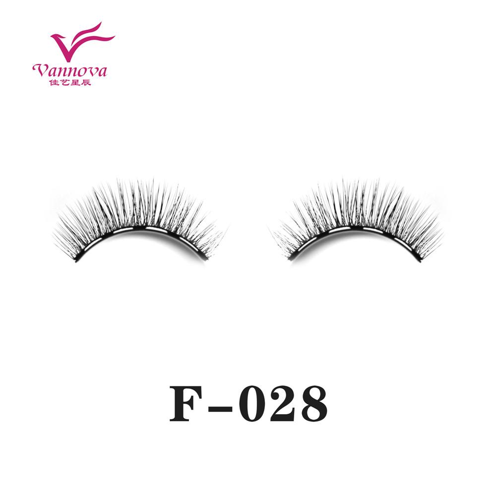 Magnetic synthetic eyelashes F-028