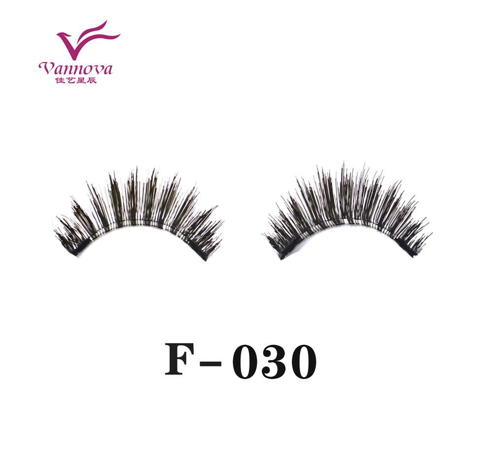 Magnetic synthetic eyelashes F-030