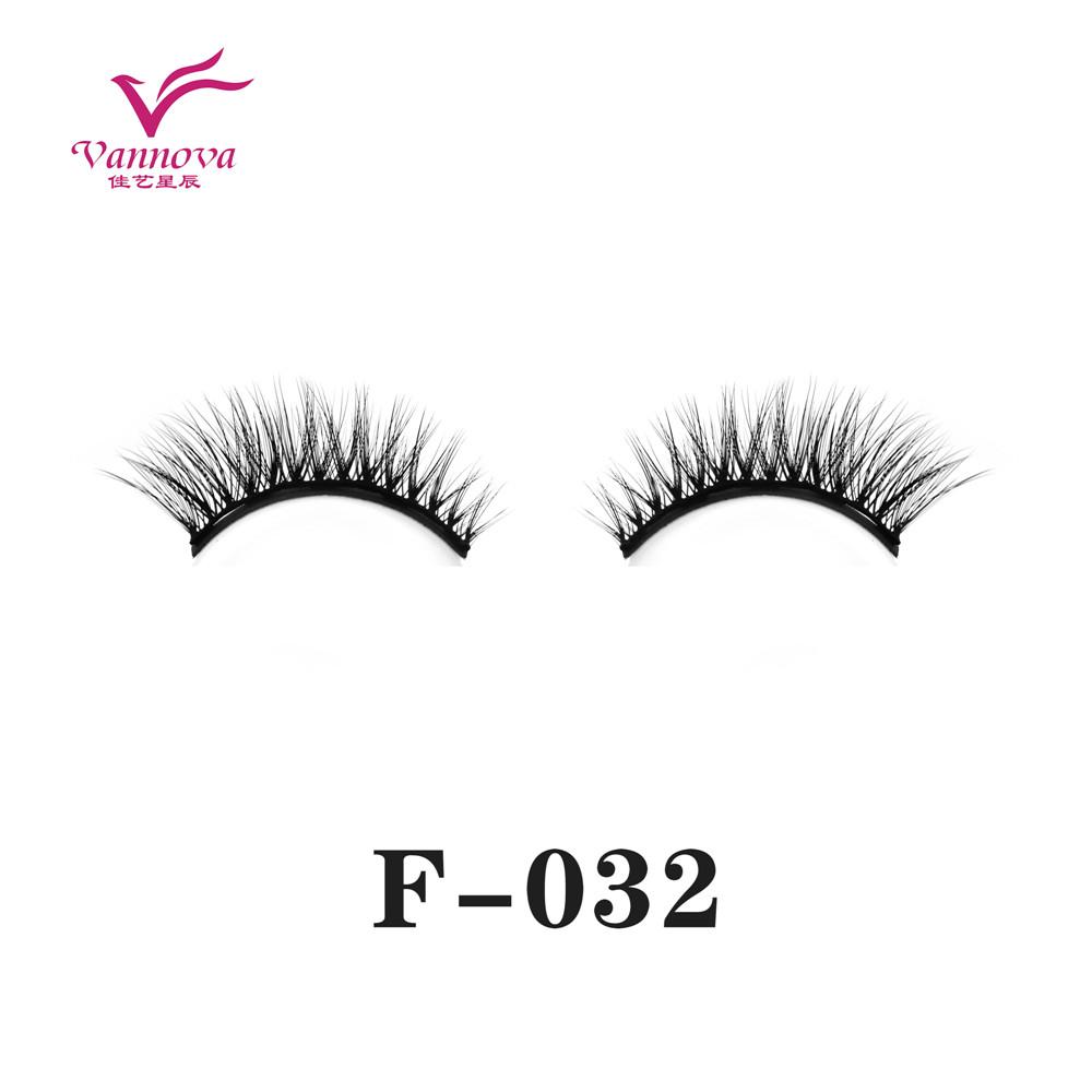 Magnetic synthetic eyelashes F-032