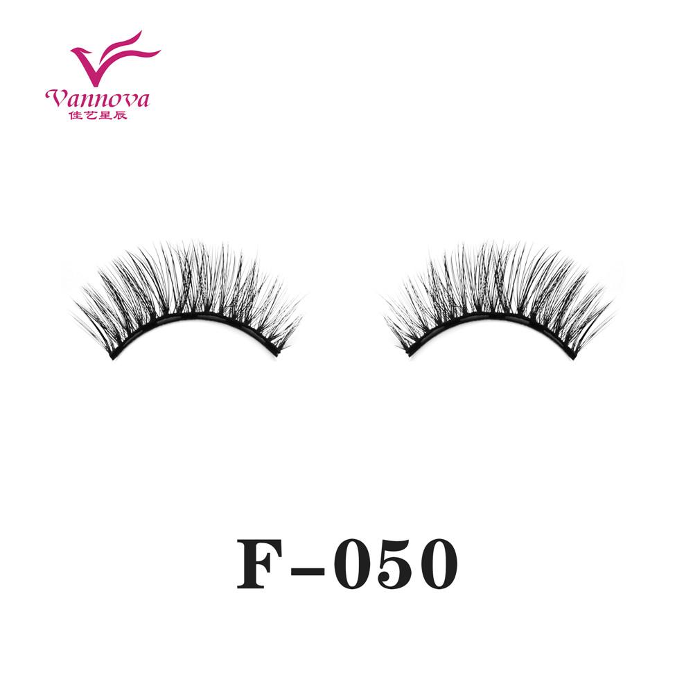 Magnetic synthetic eyelashes F-050