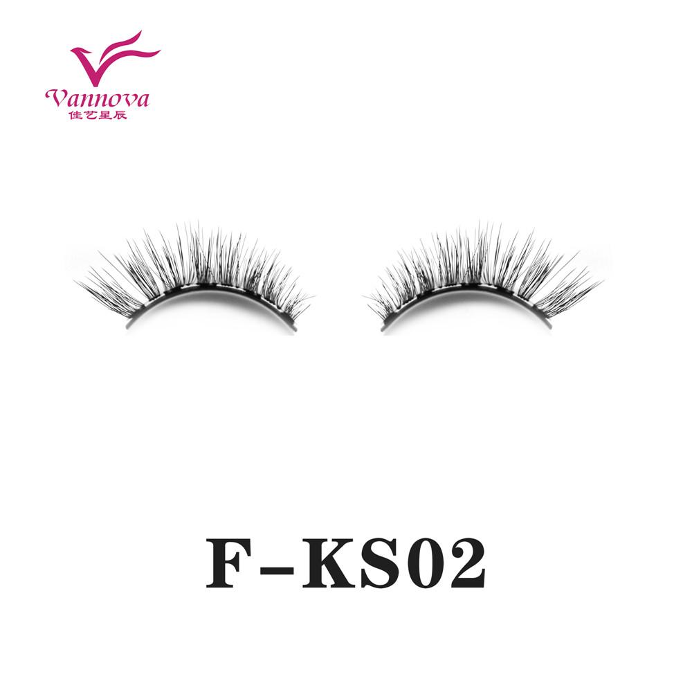 Magnetic synthetic eyelashes F-KS02
