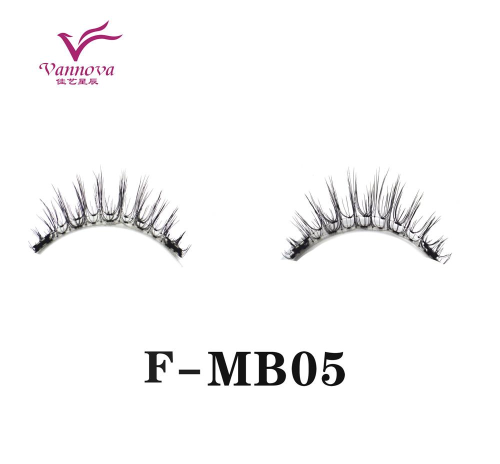 Magnetic synthetic eyelashes F-MB05
